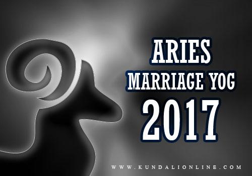Aries Marriage Horoscope 2017