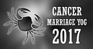 Cancer Marriage Horoscope 2017