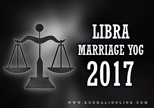 Marriage for libra in 2017