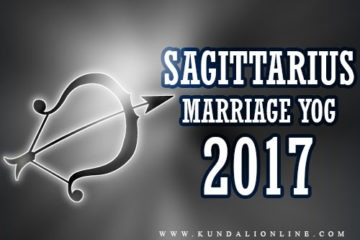 Marriage Horoscope for Sagittarius in 2017