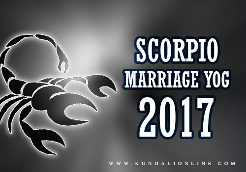 Scorpio Marriage Horoscope 2017