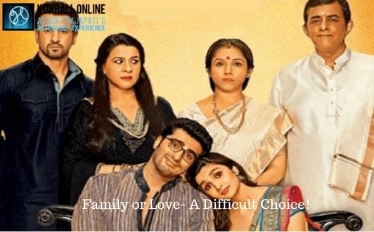 Family or Love- A Difficult Choice!