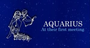 First Meeting with Aquarius People