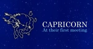 First Meeting with Capricorn People