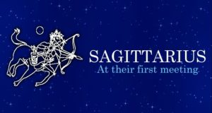 First Meeting with Sagittarius People