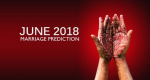 Monthly Marriage Horoscope – June 2018