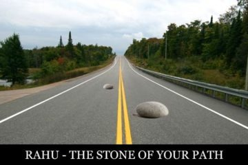 Rahu is the Stone of your path