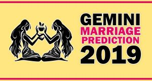 Gemini Marriage Horoscope 2019