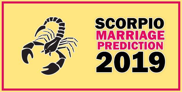 Scorpio Marriage Horoscope 2019