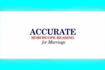 Accurate Horoscope Reading for Marriage